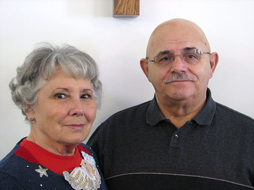 Elder Johnny Black and Nannie Sue